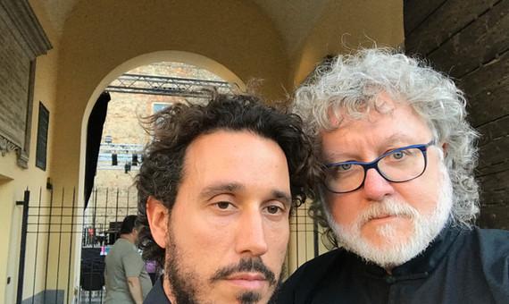Cellist, Francesco Dessy and John Ratled