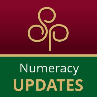 Numeracy Updates