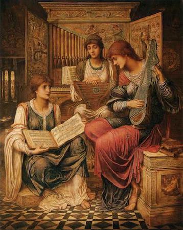Gentle Music of a Bygone Day (Strudwick)