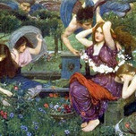 Flora and the Zephyrs (Waterhouse 1898)