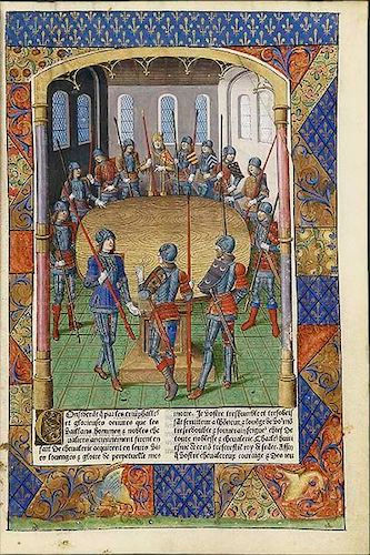 Lancelot du Lac and La Quete du Saint Gr