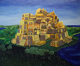 Library of Babel Tower (Guy Ben Ari).jpg