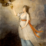 Liberty in the Form of the Goddess of Youth Giving Support to the Bald Eagle (Savage 1876)