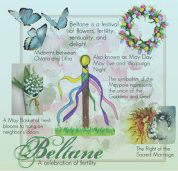Beltane, the celebration of fertility