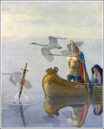 Arthur and Excalibar (Wyeth).jpg
