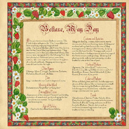 Beltane May Day info