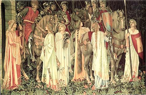 Quest for Holy Grail (Burne-Jones).jpg