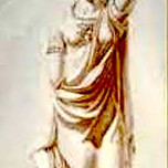Minerva for Capitol's West Front (Latrobe, sketch c. 1810)