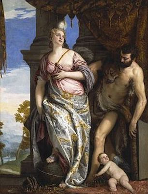 Allegory of Wisdom and Strength (Veronese, 1565)