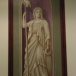 Goddess of Liberty with Staff & Cap (Pennsylvania Courthouse)