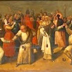 Battle of Carnival and Lent (Follower of Bosch c. 1600-20)
