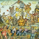 """Carnival Procession of the """"Blue Barge"""" (1539)"""