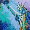 statue of liberty artwork