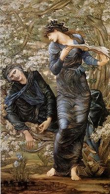 Beguiling of Merlin (Burne-Jones).jpg