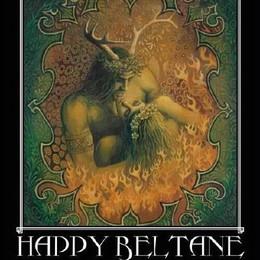 Happy Beltane Horned God
