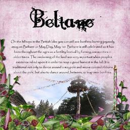Beltane maypole history