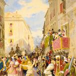 Carnaval in Rome (Werner 1844)