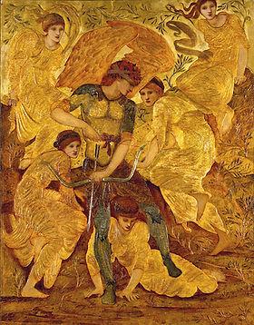 Cupid's Hunting Fields (Burne-Jones).jpg