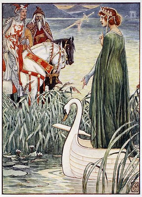 King Arthur, Merlin, Lady of Lake.jpg