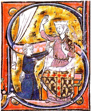 Le Roman de la Poire (Paris c. 1260-70).