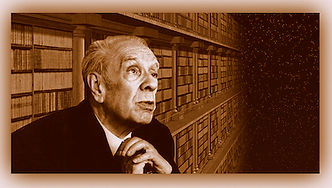 Borges in library.jpg