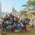 Carnival in Rome (Bronnikov 1860)