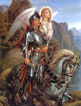 Sir Galahad and His Angel (Paton).jpg
