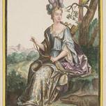 Allégorie de l'Amérique (Bonnart 17th c.)