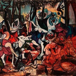 Bacchanal (Picasso 1944)