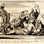 The Able Doctor, or America Swallowing the Bitter Draught (London Magazine engraving, May 1774