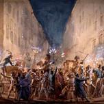 Moccoletti Festval In Rome (Jean-Louis Baptiste Thomas 1817).