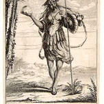 Allegory of America (from Four Continents, Bosse 17th c.)