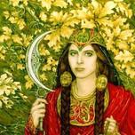 Beltane Goddess and Green Man