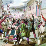 Last Day of Carnival in Rome (Pinelli 1833)