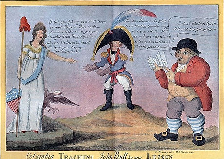 Columbia Teaching John Bull his new Lesson (Charles 1813).jpg