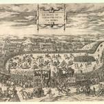 Carnival Games Mt Testaccio Rome (Dupérac 1554)