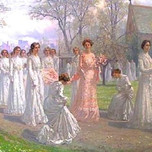 May Day Procession (Brewster)