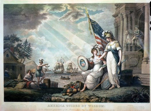 America Guided by Wisdom (1815).jpg