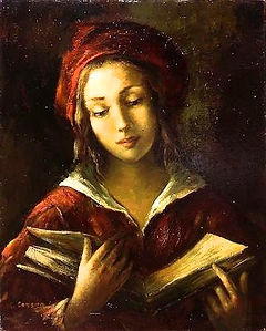 Woman Reading Books (Cambier).jpg