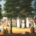 The Crowning Of Flora the May Queen (Marling)