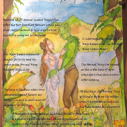 Beltane Blessings May Day