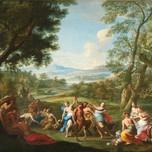 Landscape with the Floralia (Locatelli 1728)