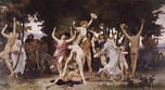 The Youth of Bacchus (La Jeunesse de Bacchus, Bouguereau 1884)
