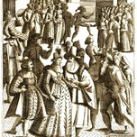 Venice Carnival Masked Revellers (Franco 1610)