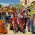 Carnival in Trinidad (Meister Drucke c. 1940)