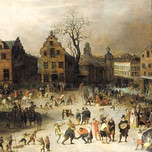 Carnival in a Flemish city (Caullery 17th c.)