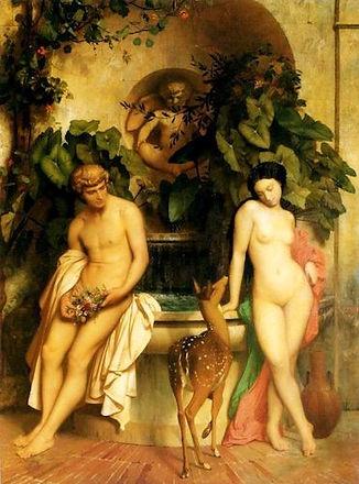 Daphnis and Chloe (Gerome).jpg