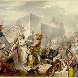 Roman Carnival Scene (Ramberg 19th c.)