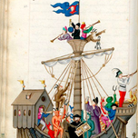 Schembart Carnival ship of fools