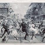 Carnival in Port of Spain Trinidad (Prior 1888)